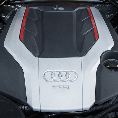 Audi SQ5, Nahaufnahme 3.0 TSFI-Motor