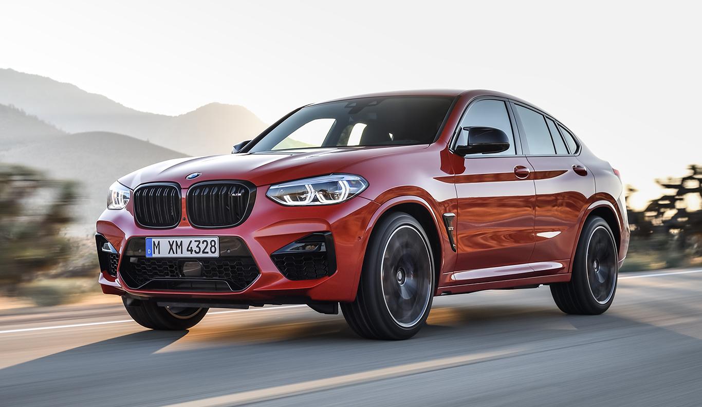 480 PS leistet die besonders starke Variante BMW X4 M.