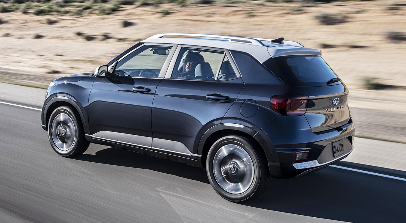 Der Marktstart für das neue Hyundai-SUV Venue ist für das vierte Quartal 2019 vorgesehen.