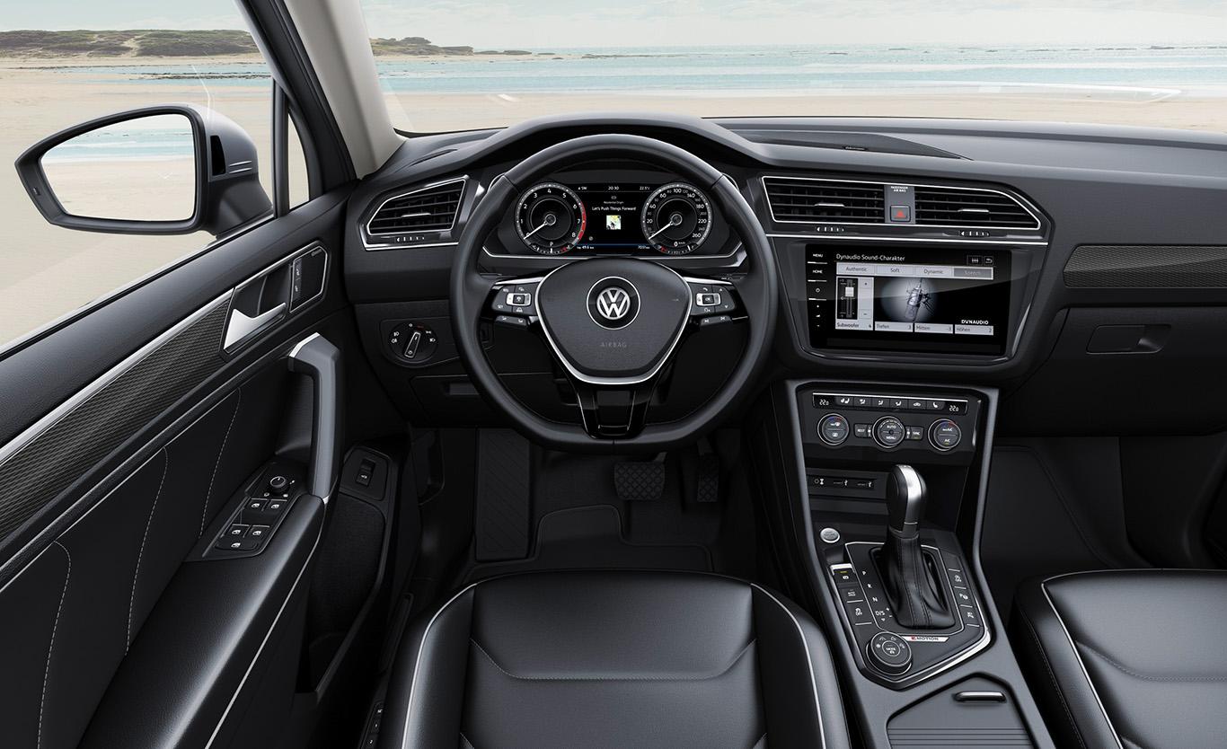 Edel oder elegant: Für jede Vorliebe hat VW auch bei der Langversion des Tiguan das passende Angebot parat.