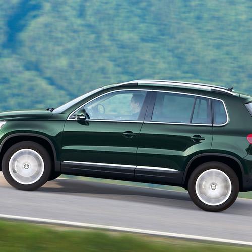 VW Tiguan I Facelift, Seitenansicht