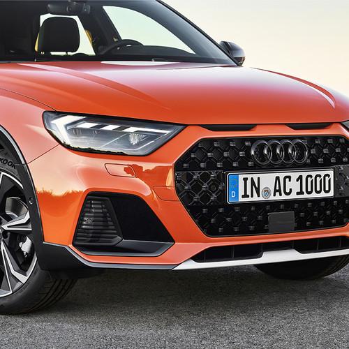 Audi A1 citycarver, Frontpartie