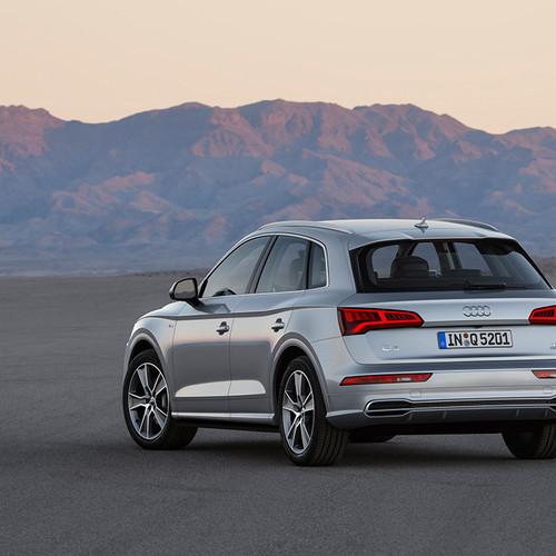 Rückansicht des Audi Q5
