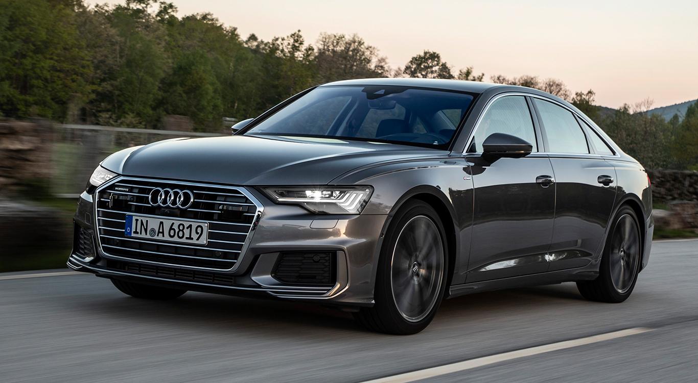 Audi A6 Limousine mit S line-Exterieur