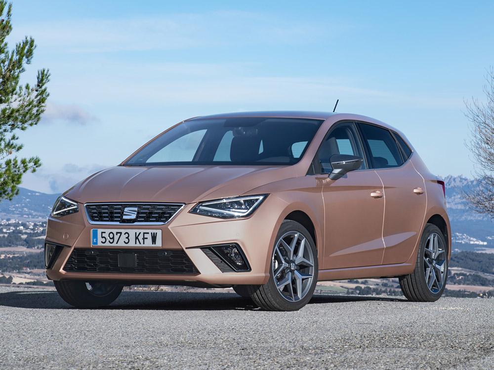 Den Kleinwagen Seat Ibiza gibt es auch mit Erdgas-Antrieb als 1.0 TGI zu kaufen.