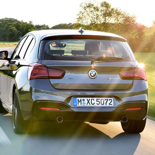 BMW 1er Reihe, Facelift 2017, Heckansicht