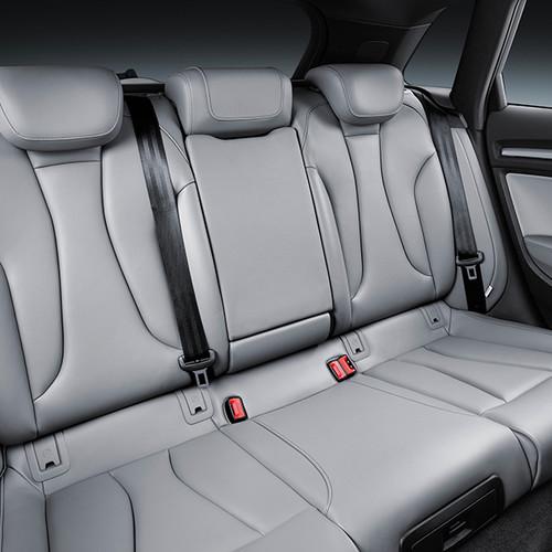 Audi A3 Sportback, Innenansicht, Fond