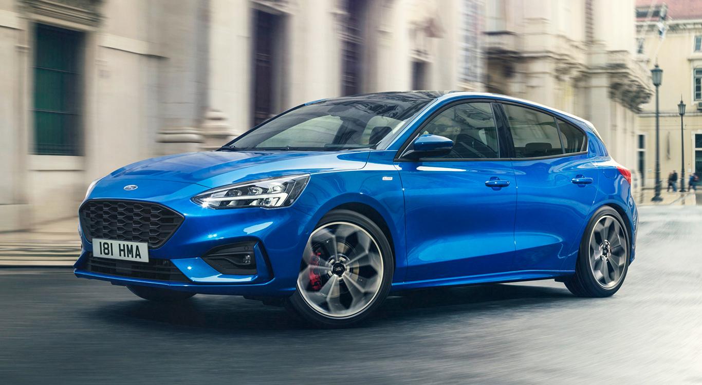Flacher und dynamischer als die Vorgänger: Im April 2018 stellte Ford die aktuelle Generation des Focus (Baureihe Mk4) vor.