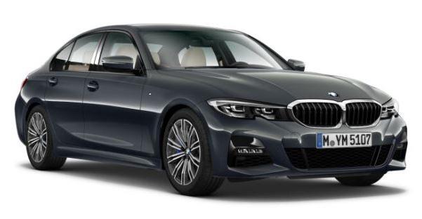 "Der BMW 3er ""M Sport"" in ""Dravitgrau Metallic""."