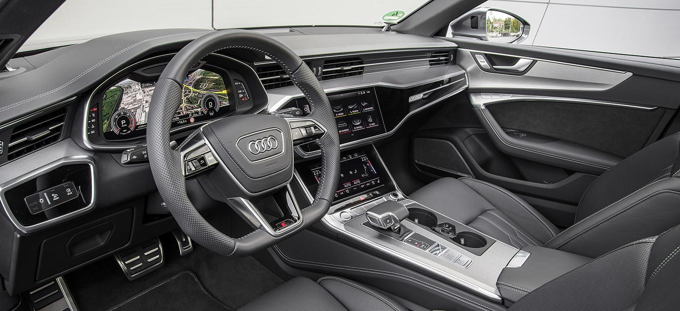 Audi A7, Innenansicht, Cockpit