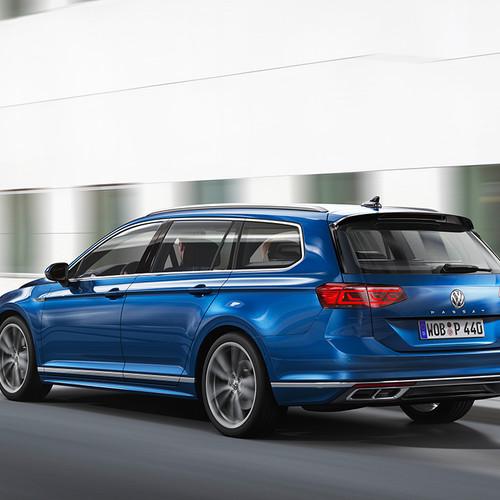 VW Passat Variant 2019, Facelift, Kombi, Heckansicht
