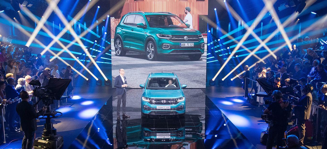 VW T-Cross, Premiere