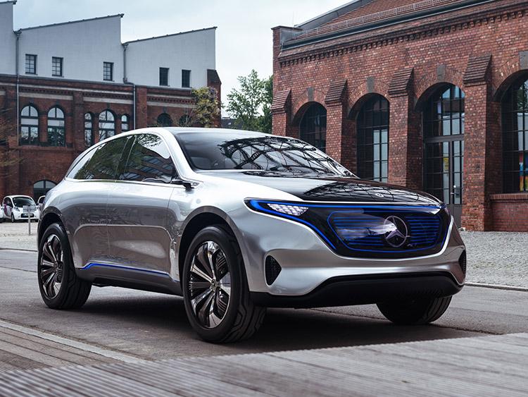 Die Elektroauto-Studie Mercedes Concept EQ soll im Verlauf des Jahres 2018 ihren Serienstart erleben.