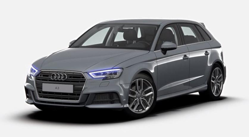 Unser persönlicher Audi A3 Sportback mit 150 PS und S line selection-Ausstattung