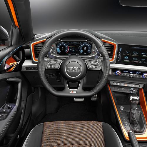Audi A1 citycarver, Cockpit, Innenraum