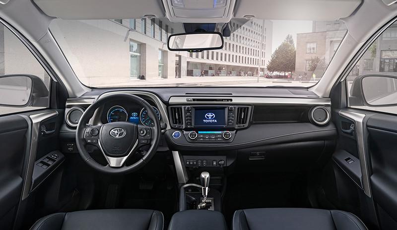 Toyota RAV4, Innenansicht, Cockpit frontal
