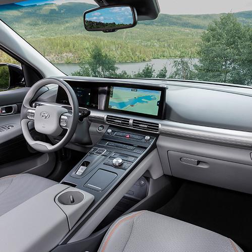 Hyundai Nexo, Blick ins Cockpit