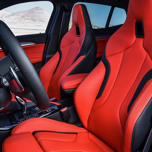 BMW X2 M35i, Innenansicht, Cockpit seitlich