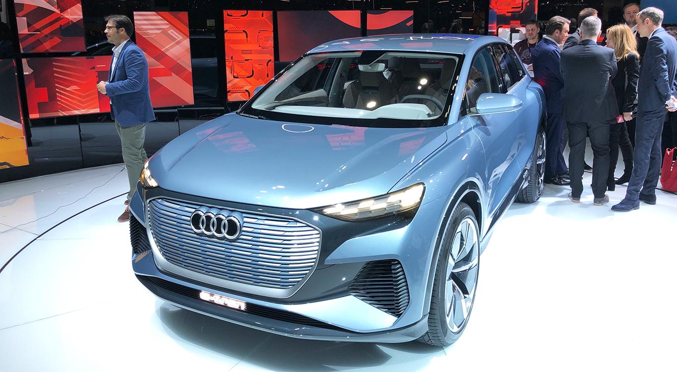 Ausblick in Genf: Der Audi Q4 e-tron kommt als Kampfansage an BMW X4, Tesla Model Y und Co.