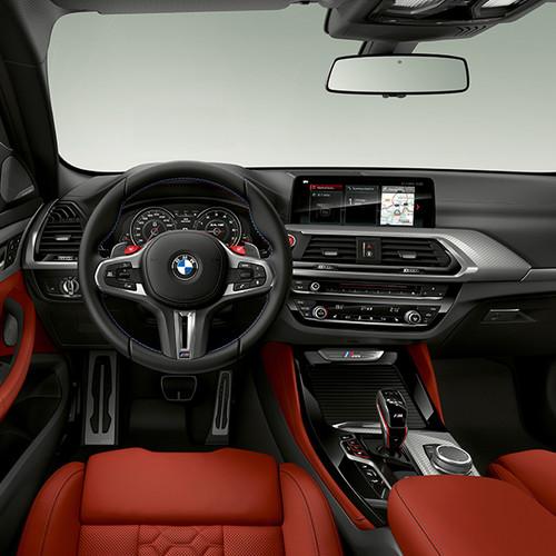 BMW X4 M, Innenansicht, Cockpit