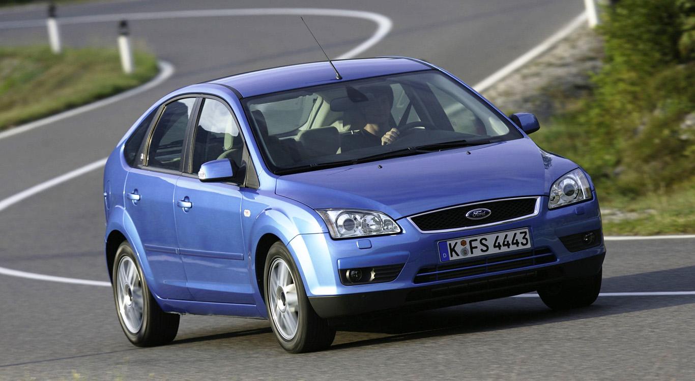 2007 bekam die zweite Generation des Ford Focus (Mk2) ein Facelift - hier sehen wir das Modell vor der Überarbeitung.
