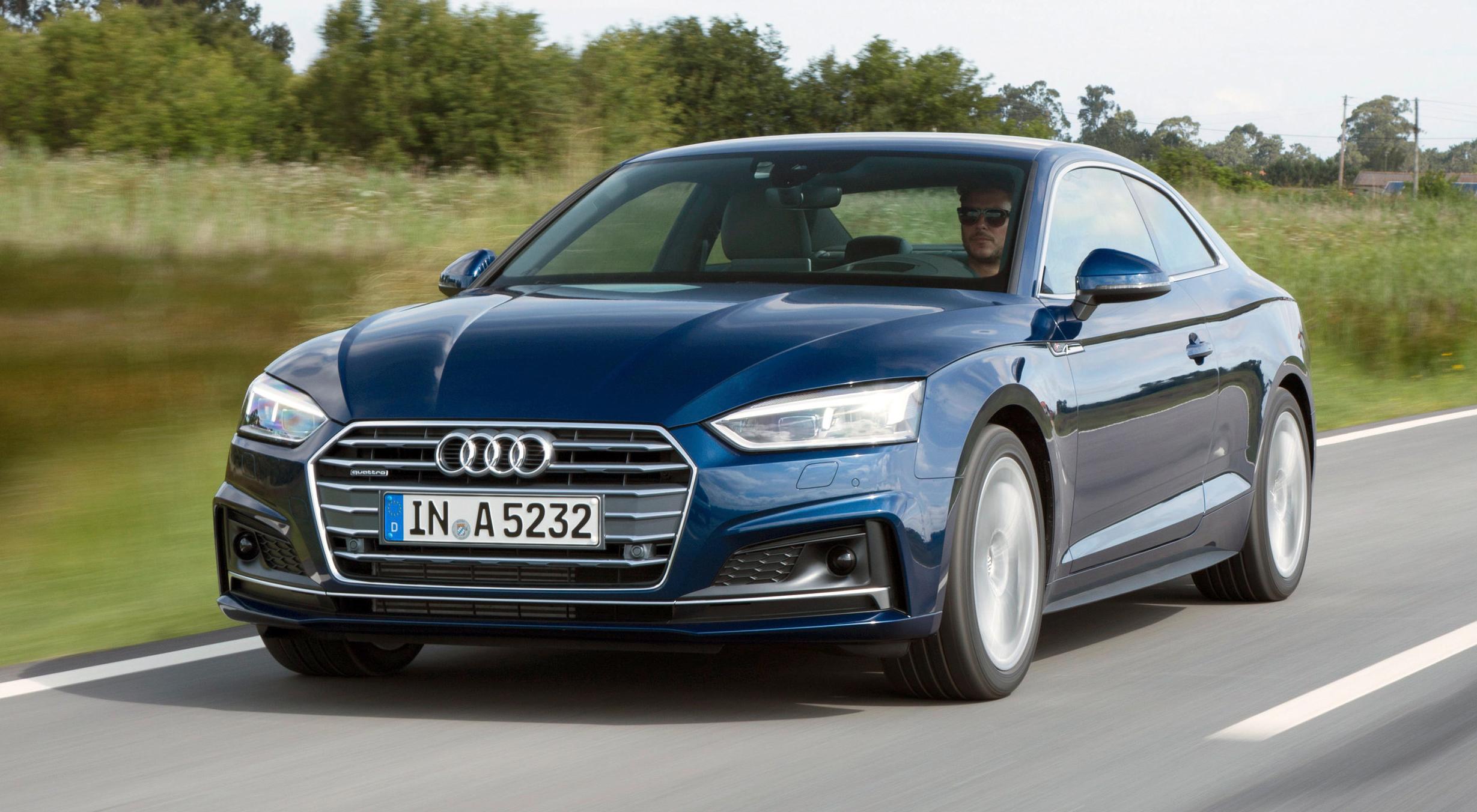 Audi A5 Coupé mit S line-Exterieur.