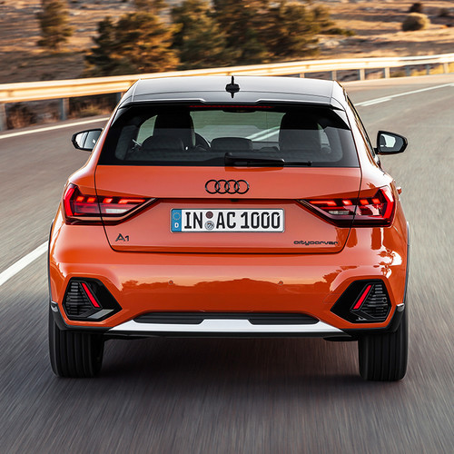 Audi A1 citycarver, Heckansicht, Zoom