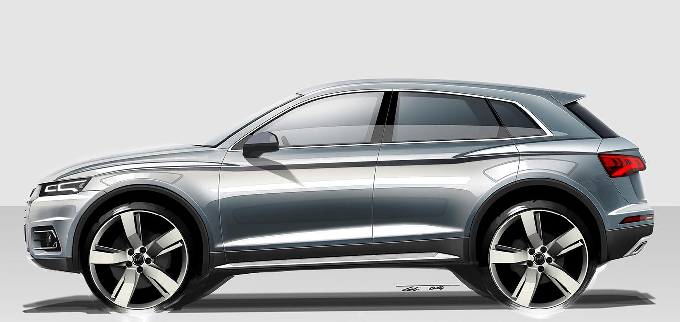 Der neue Audi Q5 vom Typ FY beerbte den Audi Q5 8R im Januar 2017