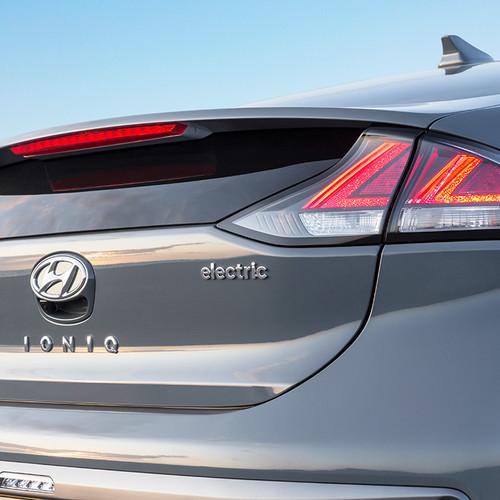 Hyundai Ioniq Elektro 2019, Heckklappe