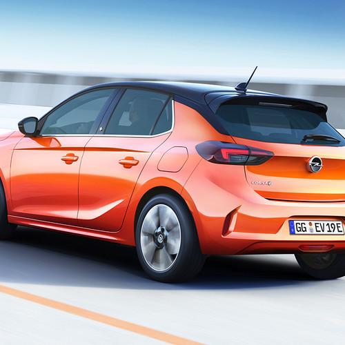 Opel Corsa-e, Elektroauto, Heckansicht