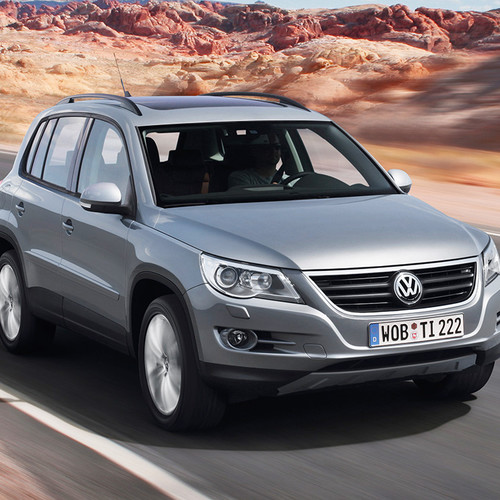 VW Tiguan I, Pre-Facelift, Frontansicht