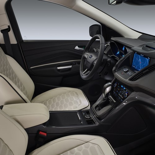 Innenraum des Ford Kuga Vignale