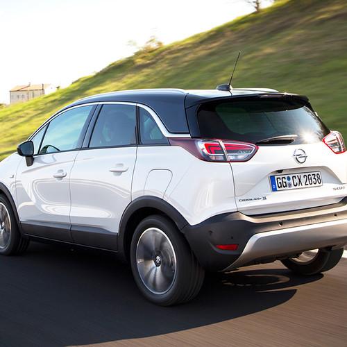 Opel Crossland X, weiß, Kofferraum