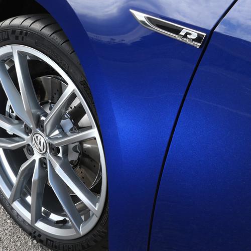 VW Golf R Variant, blau, Felgen