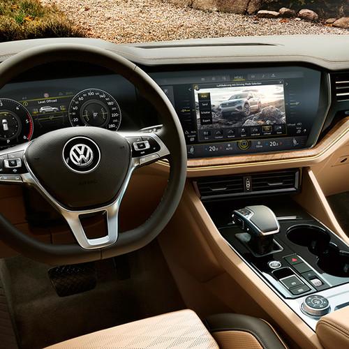 VW Touareg, Innenansicht, Cockpit
