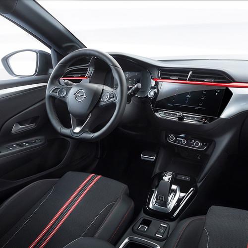 Opel Corsa F, Cockpit, Innenraum