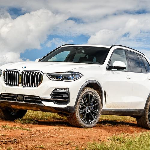 BMW X5, G05, Frontansicht, weiß
