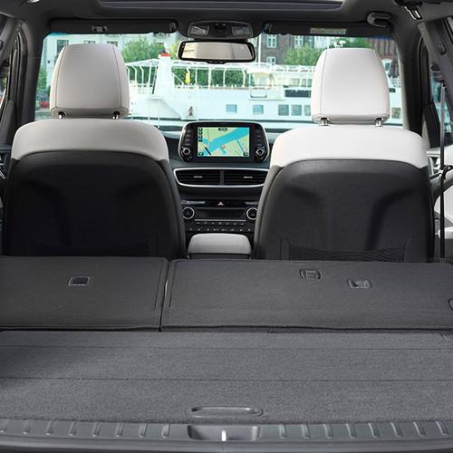 Hyundai Tucson, Kofferraum mit ganz umgeklappter Rücksitzlehne