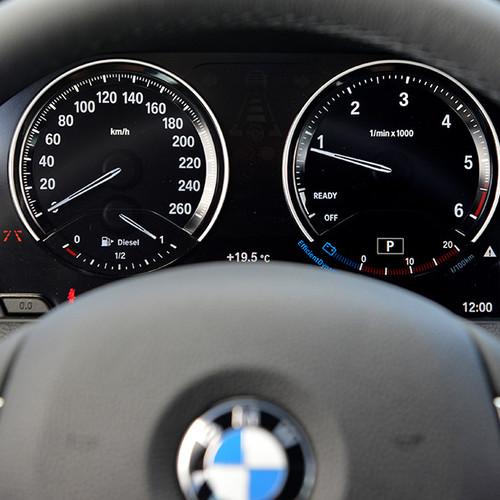 BMW 1er, Instrumente-Tafel, Nahansicht