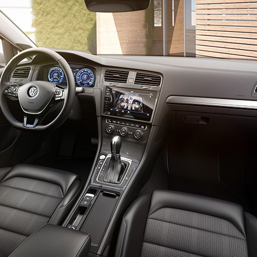 volkswagen-e-Golf-Innenraum