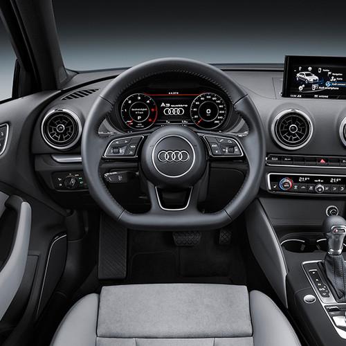 Audi A3 Limousine, Innenansicht, Cockpit