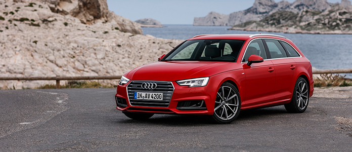 Der Audi A4 Avant mit Diesel-Antrieb - Noch immer der Goldstandard in jedem Fuhrpark.