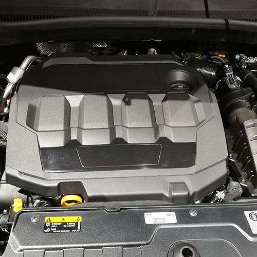 Motor eines VW T-Cross
