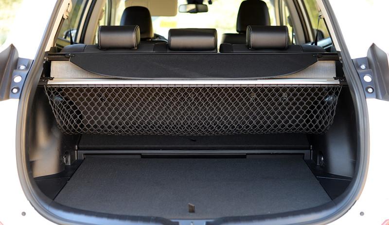Toyota RAV4, geöffneter Kofferraum