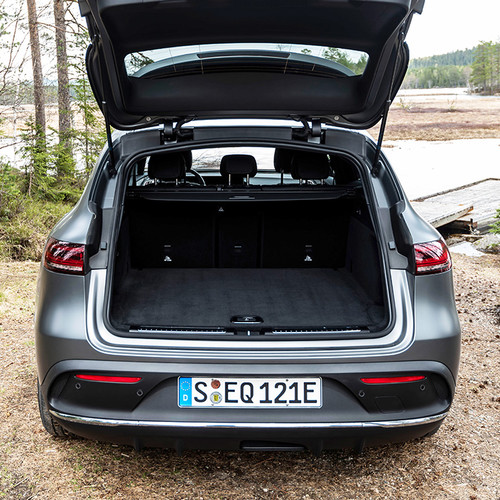 Mercedes EQC, Kofferraum