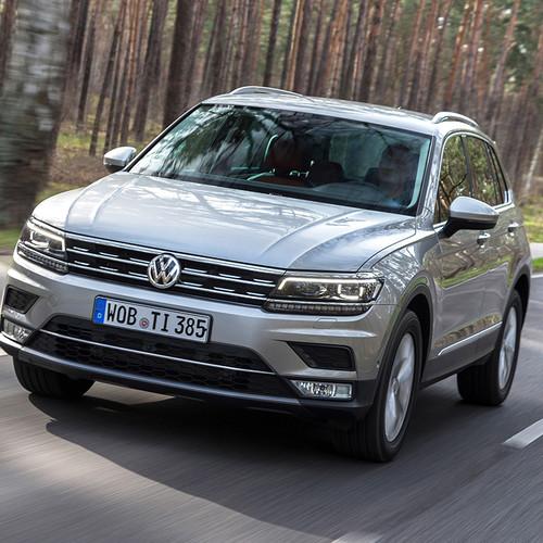 VW Tiguan, Frontansicht, Pre-Facelift
