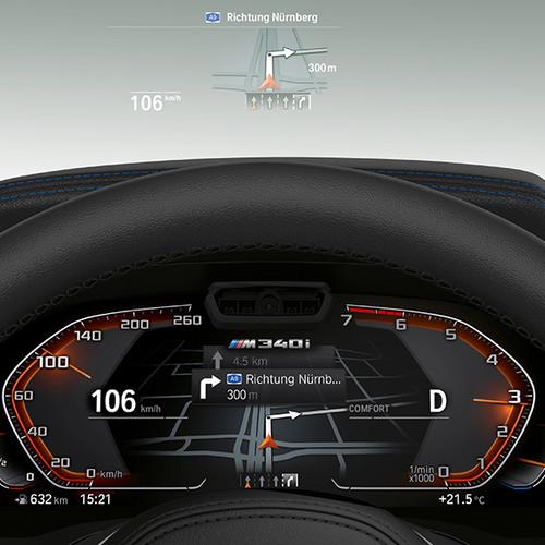 BMW 3er, Head-up Display