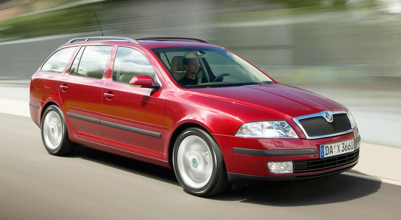 Seit 1998 gibt es das Erfolgsmodell Skoda Octavia auch als Kombimodell. Im Bild die erste Generation (Typ 1U).