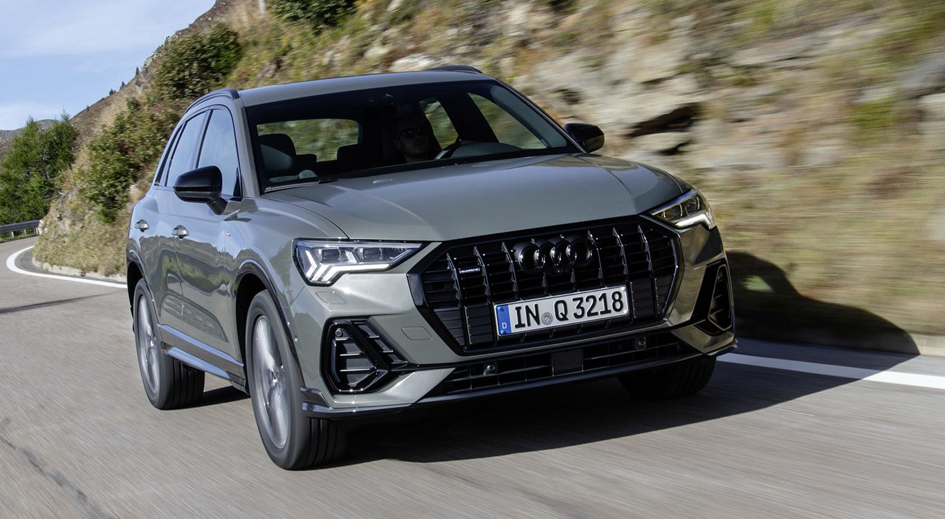 "Audi Q3 ""edition one"" Chronosgrau"