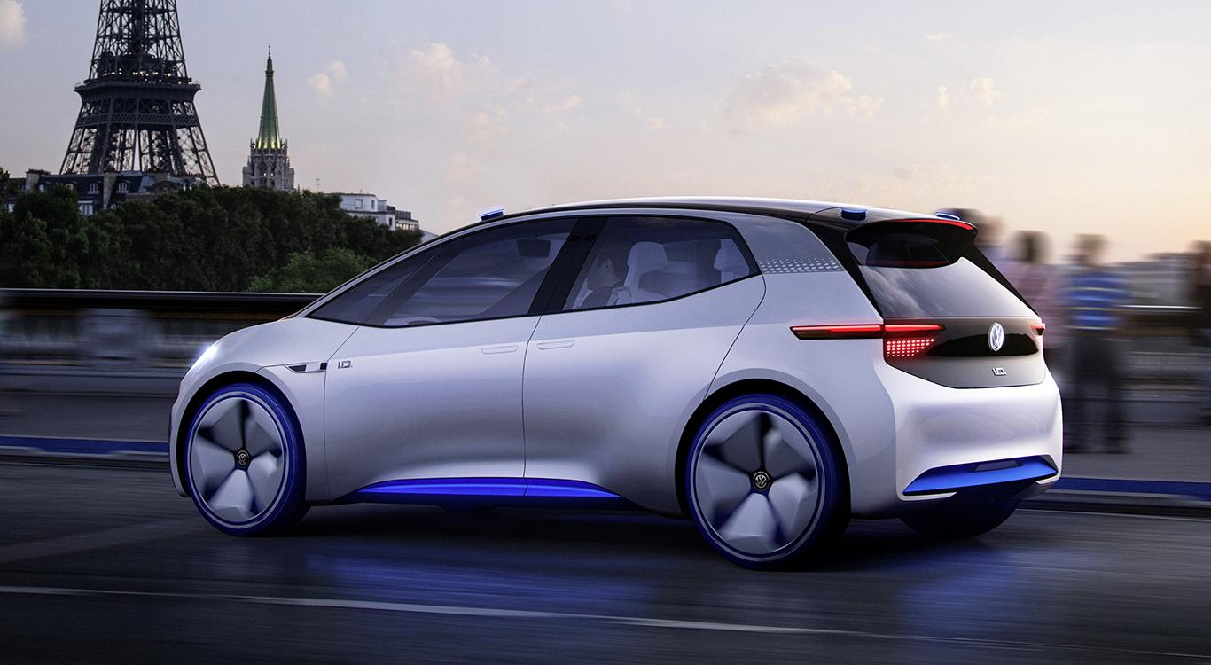 Die Studie VW I.D. Neo gibt einen seriennahen Ausblick auf das mutmaßlich 2019 erscheinende Elektroauto.